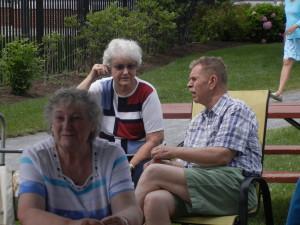 Melva, Liz and Michael