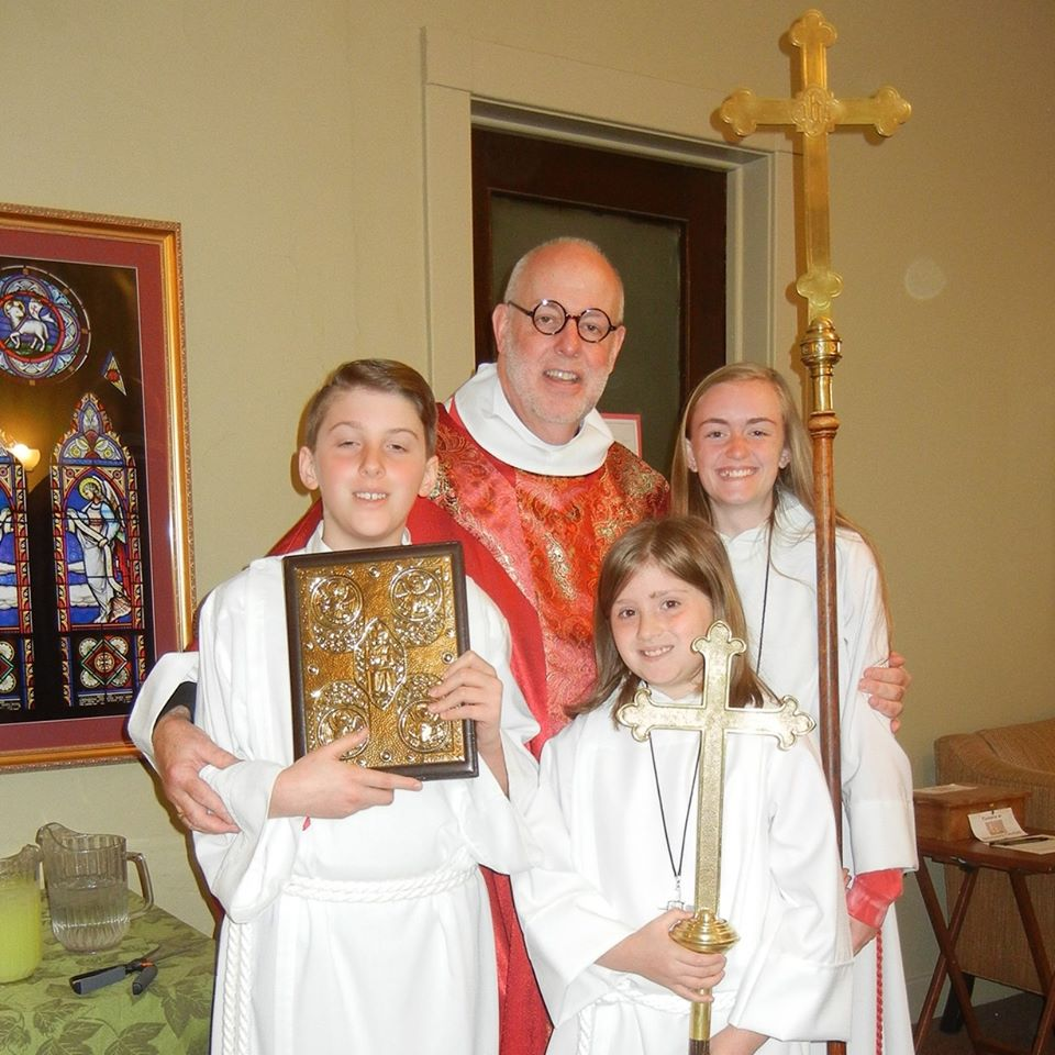 Acolites with Father David